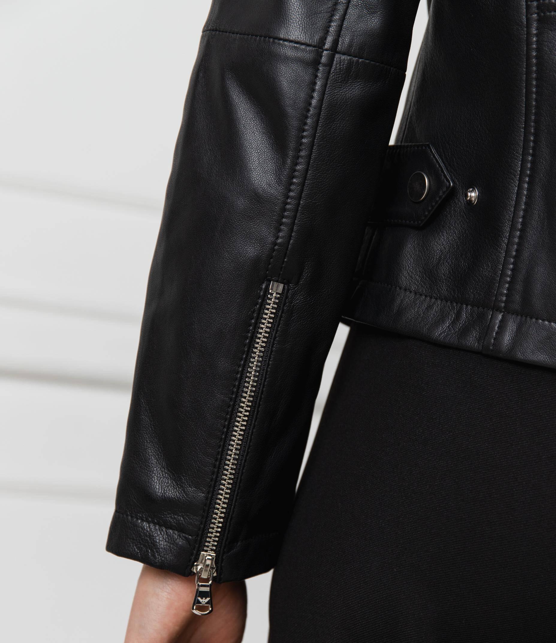 361523d2f Leather ramones jacket CABAN | Regular Fit