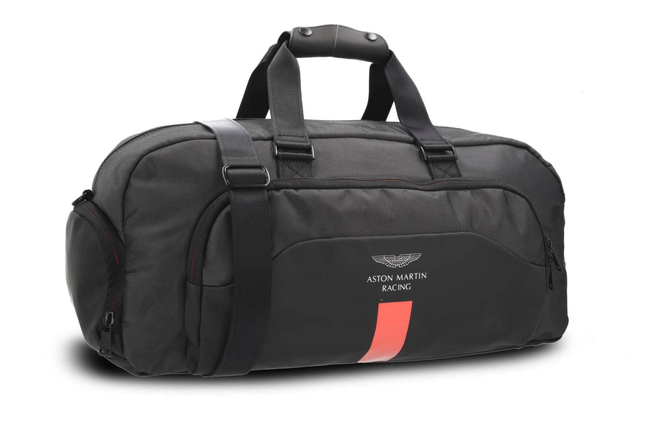 621a7dd764 Travel bag Aston Martin Racing Hackett London | Black | Gomez.pl/en