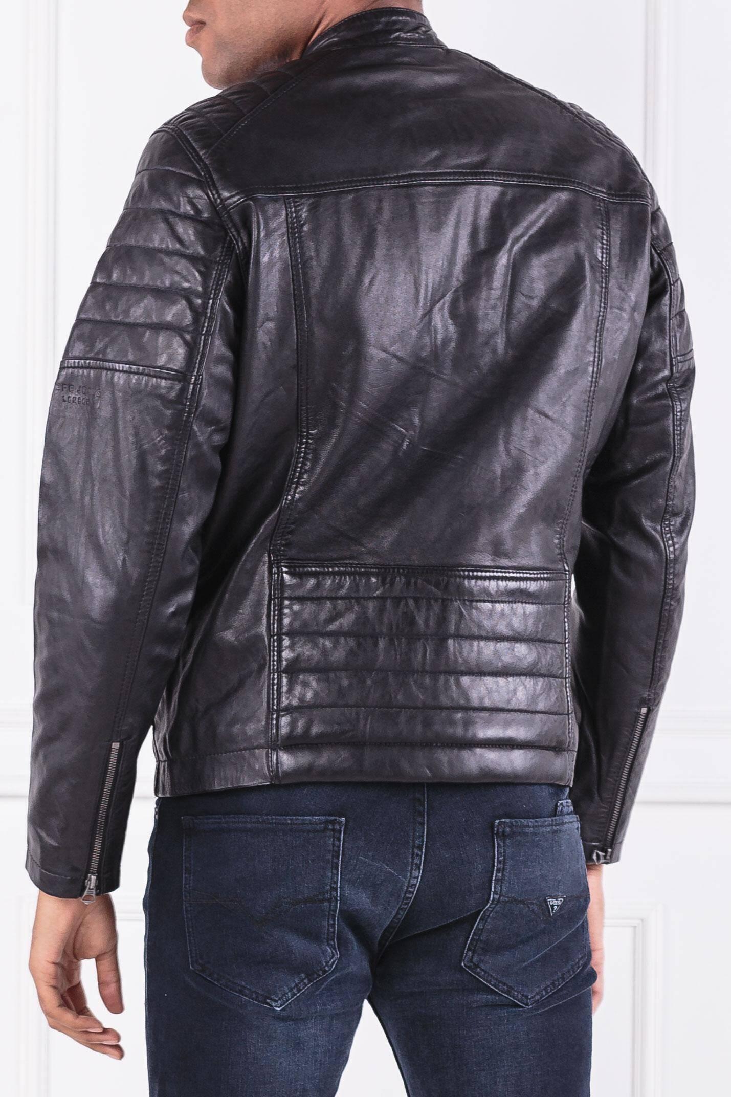 e03b3722334 Leather jacket KEITH