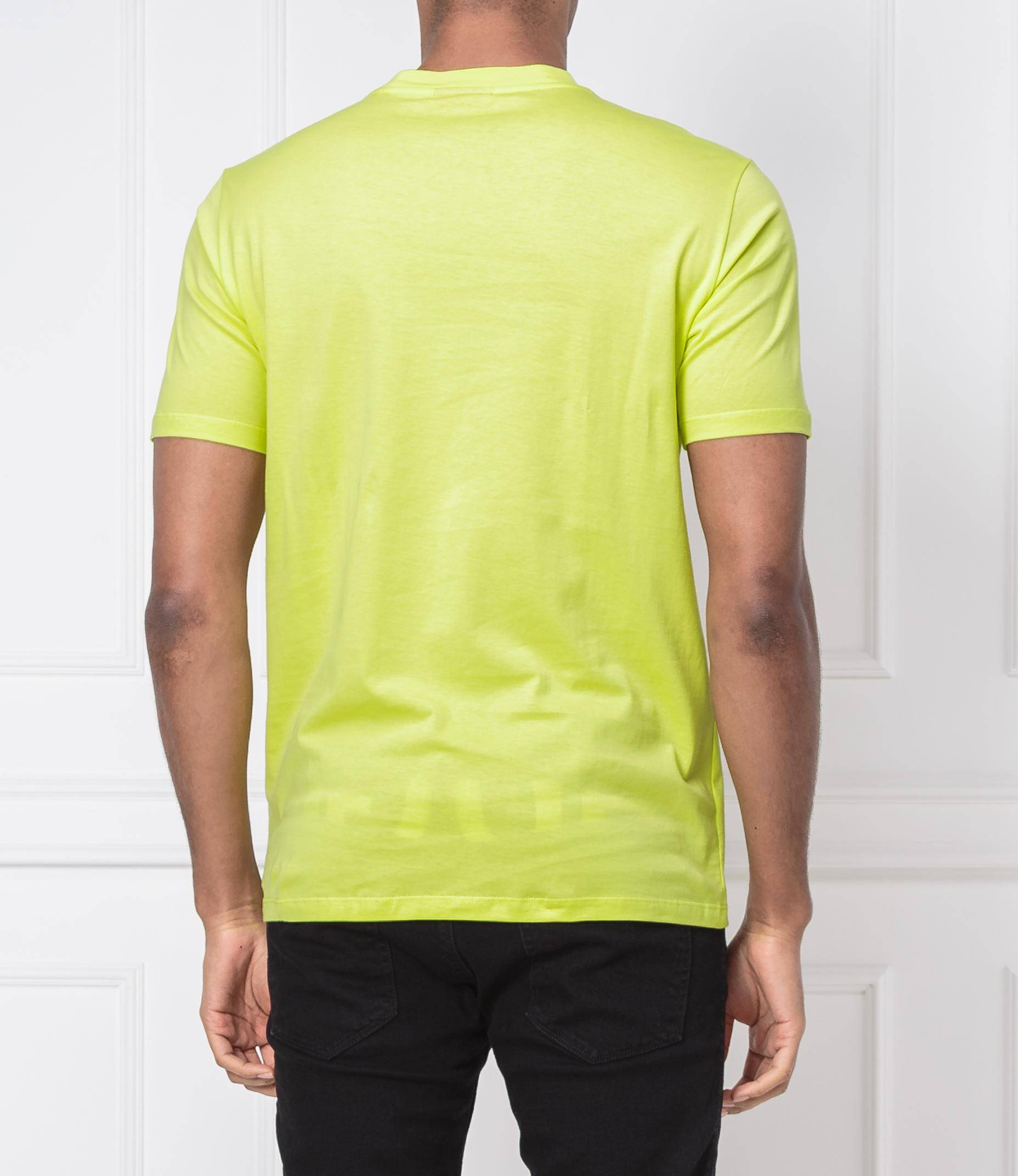 e9bca2576 T-shirt Dicagolino | Regular Fit Hugo | Yellow | Gomez.pl/en