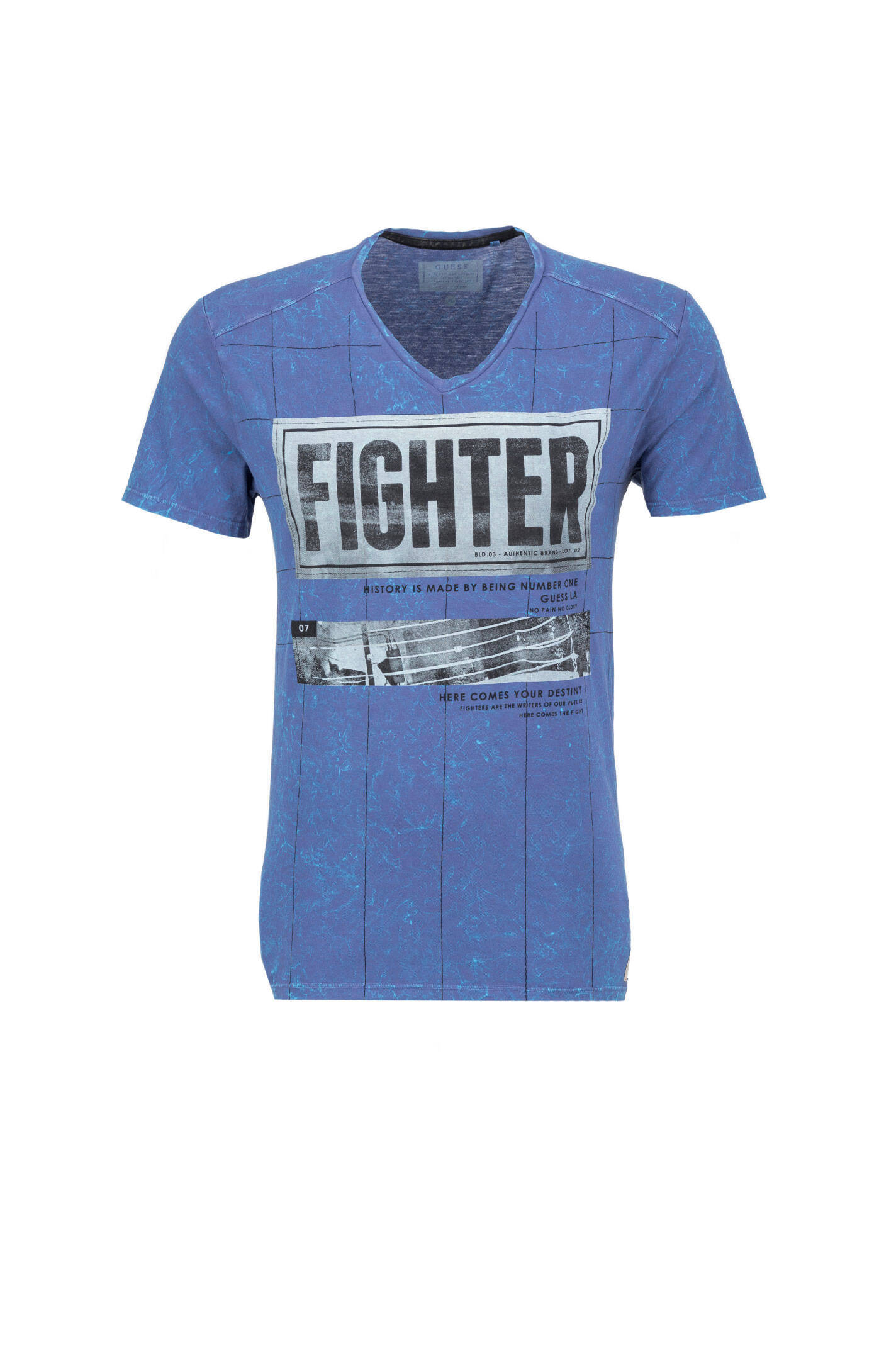 d4d5a8771b00d Fighter T-shirt Guess Jeans   Blue   Gomez.pl en