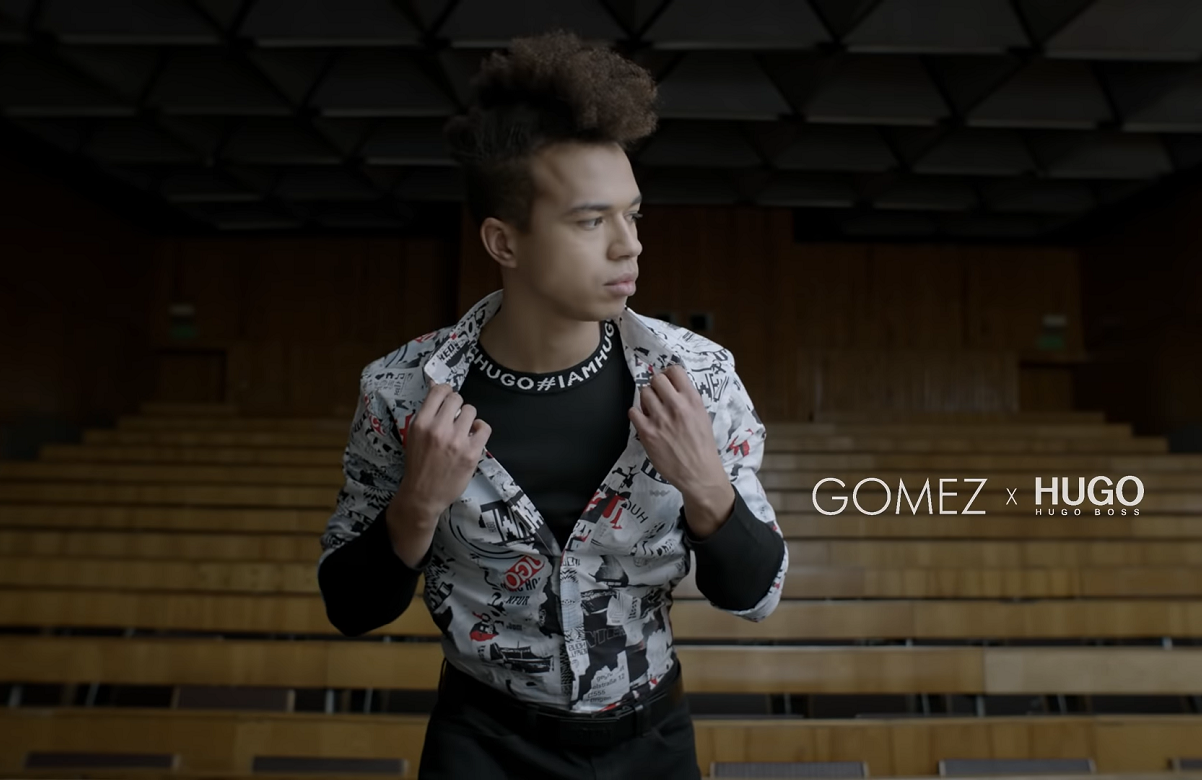 Gomez x HUGO – kampania Wiosna/Lato 2019 #iamHUGO