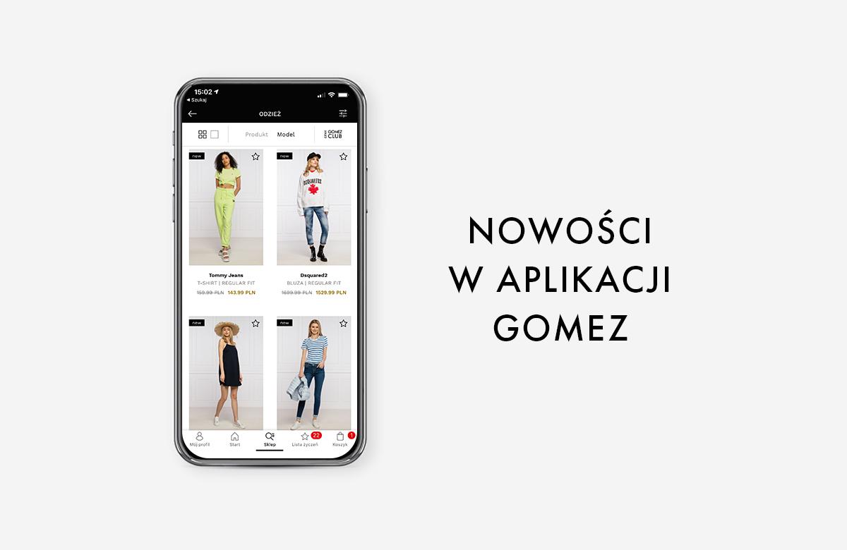 Nowe funkcje w aplikacji Gomez!