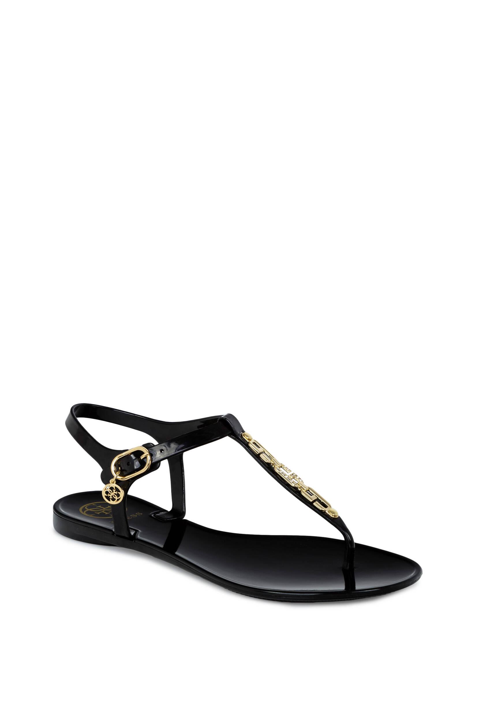 guess sandały z łancuszkiem