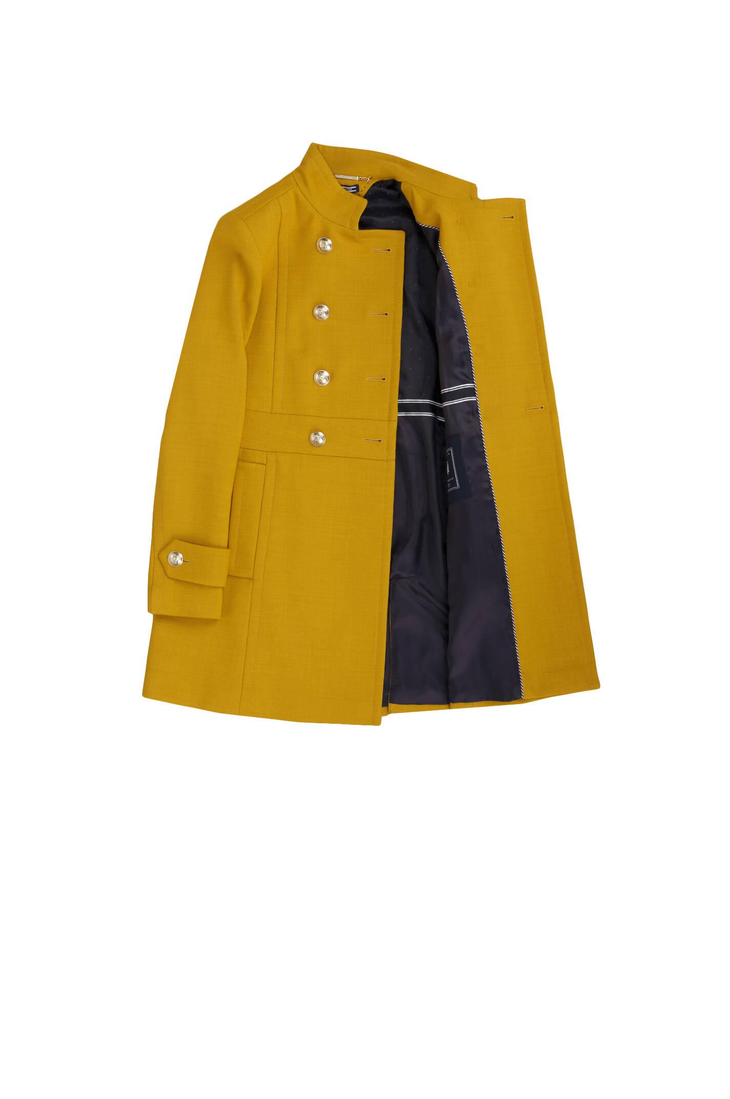 closer at high quality classic Nichelle Coat