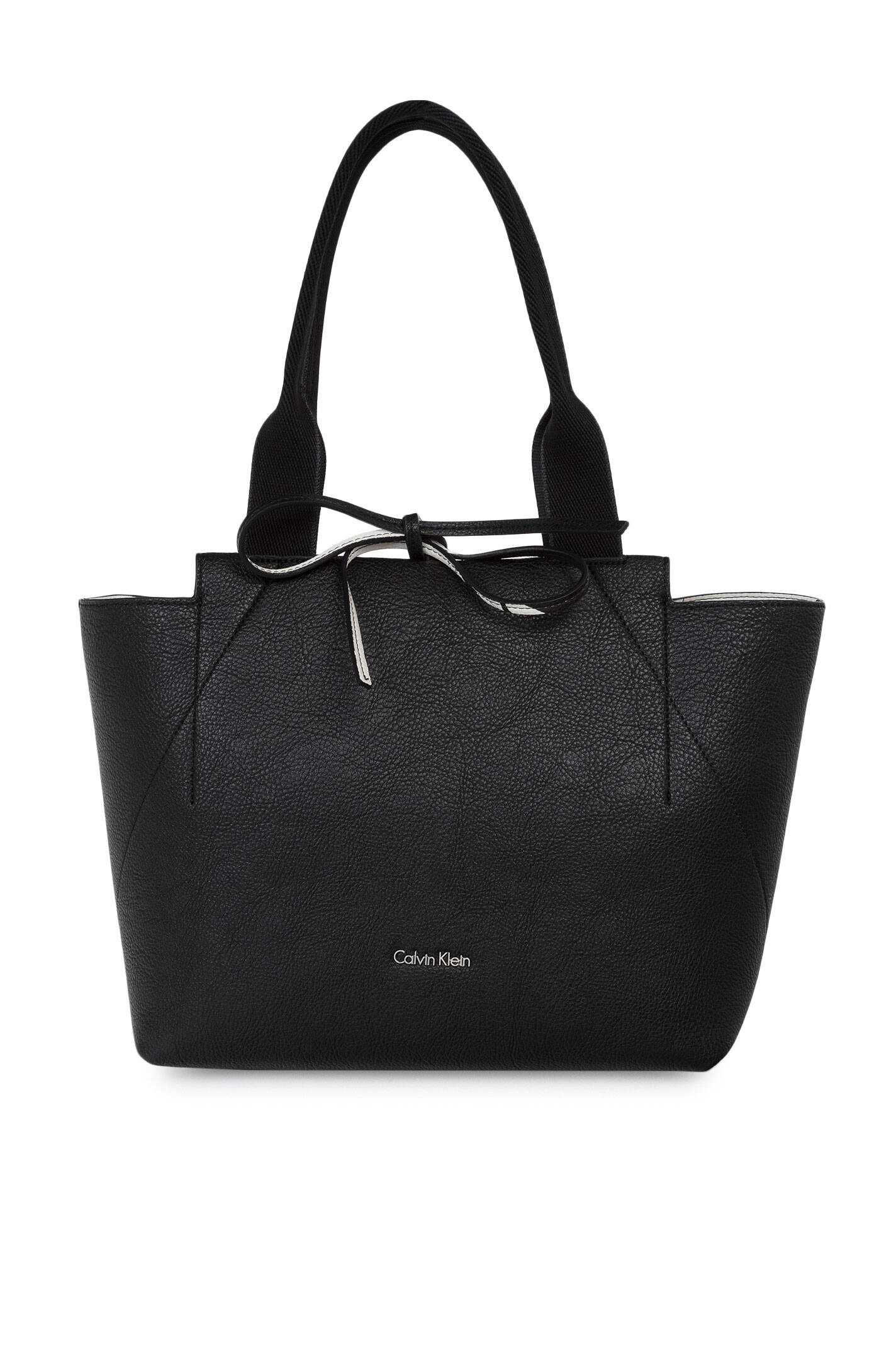 4fe9da2860491 Isa Reversible Shopper Bag Calvin Klein | Black | Gomez.pl/en