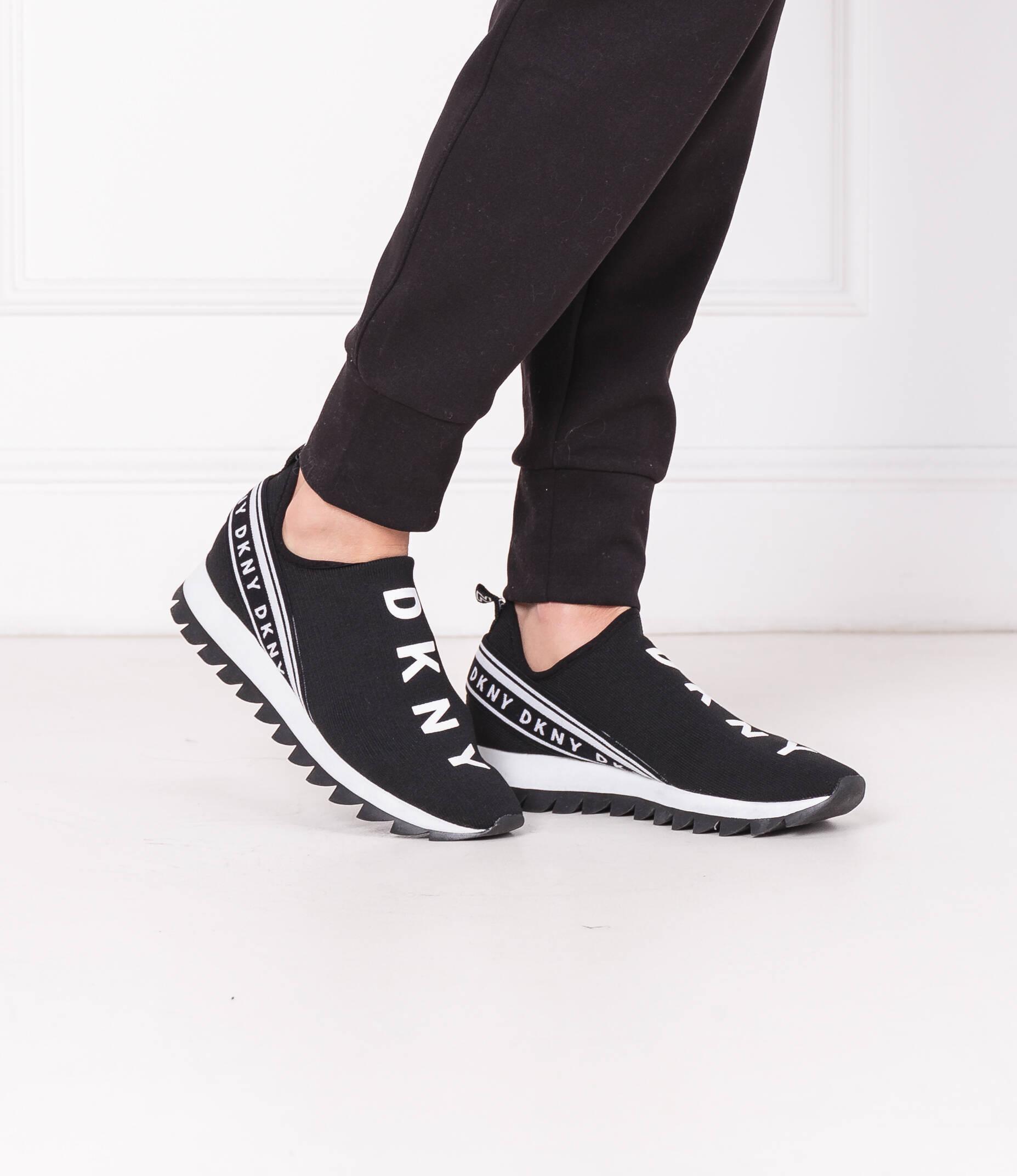 Sneakers abbi DKNY | Black | Gomez.pl/en