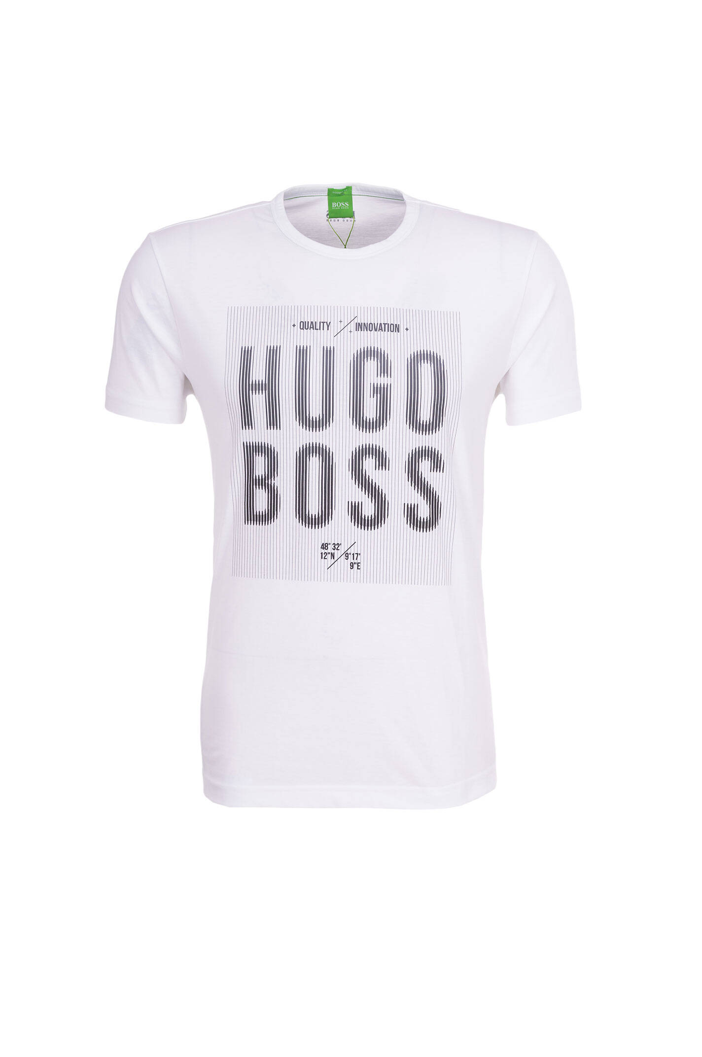 5273363661 Tee 2 T-shirt Boss Athleisure | White | Gomez.pl/en