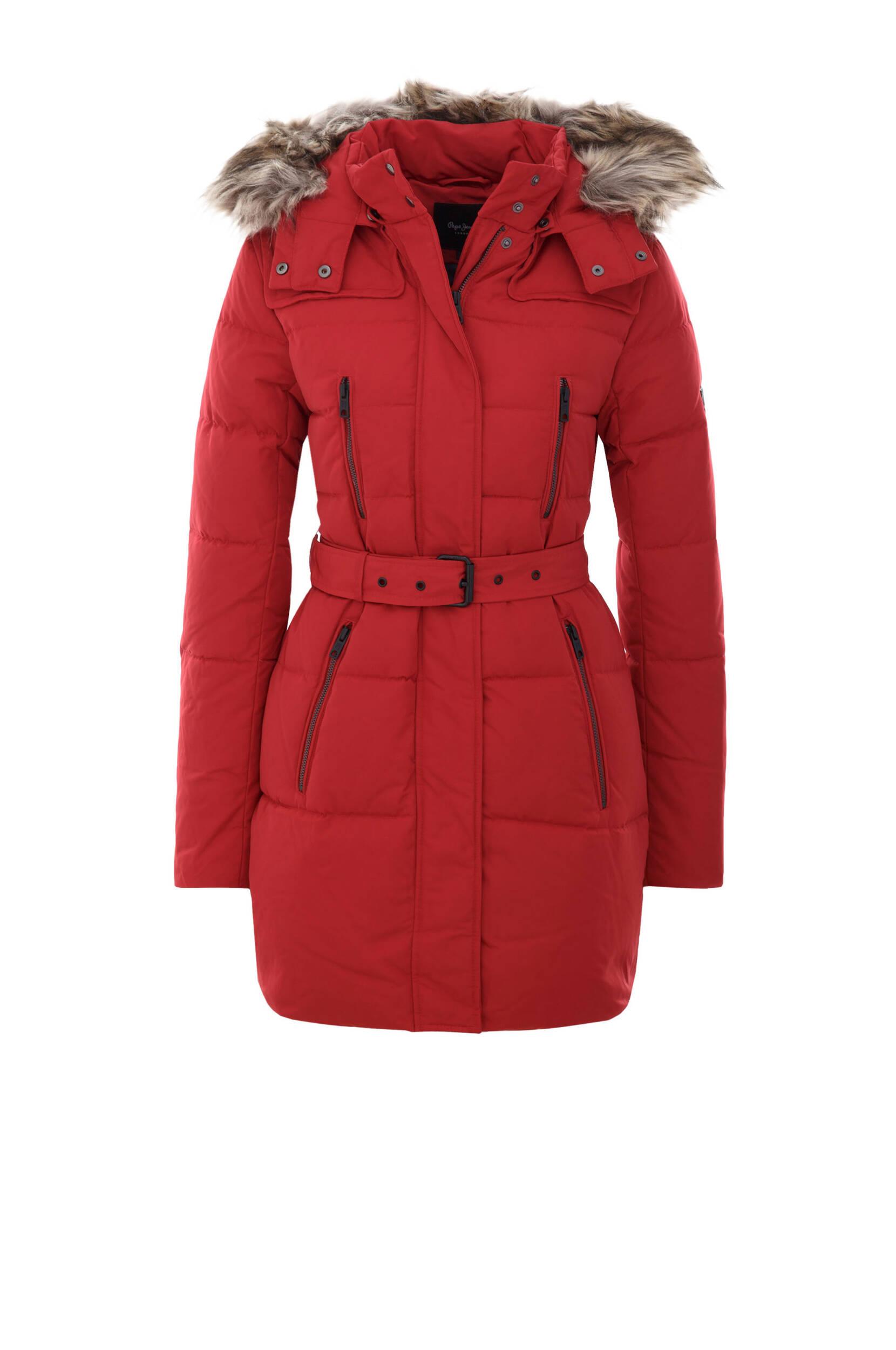 970fb568836fc Betties coat Pepe Jeans London   Red   Gomez.pl en