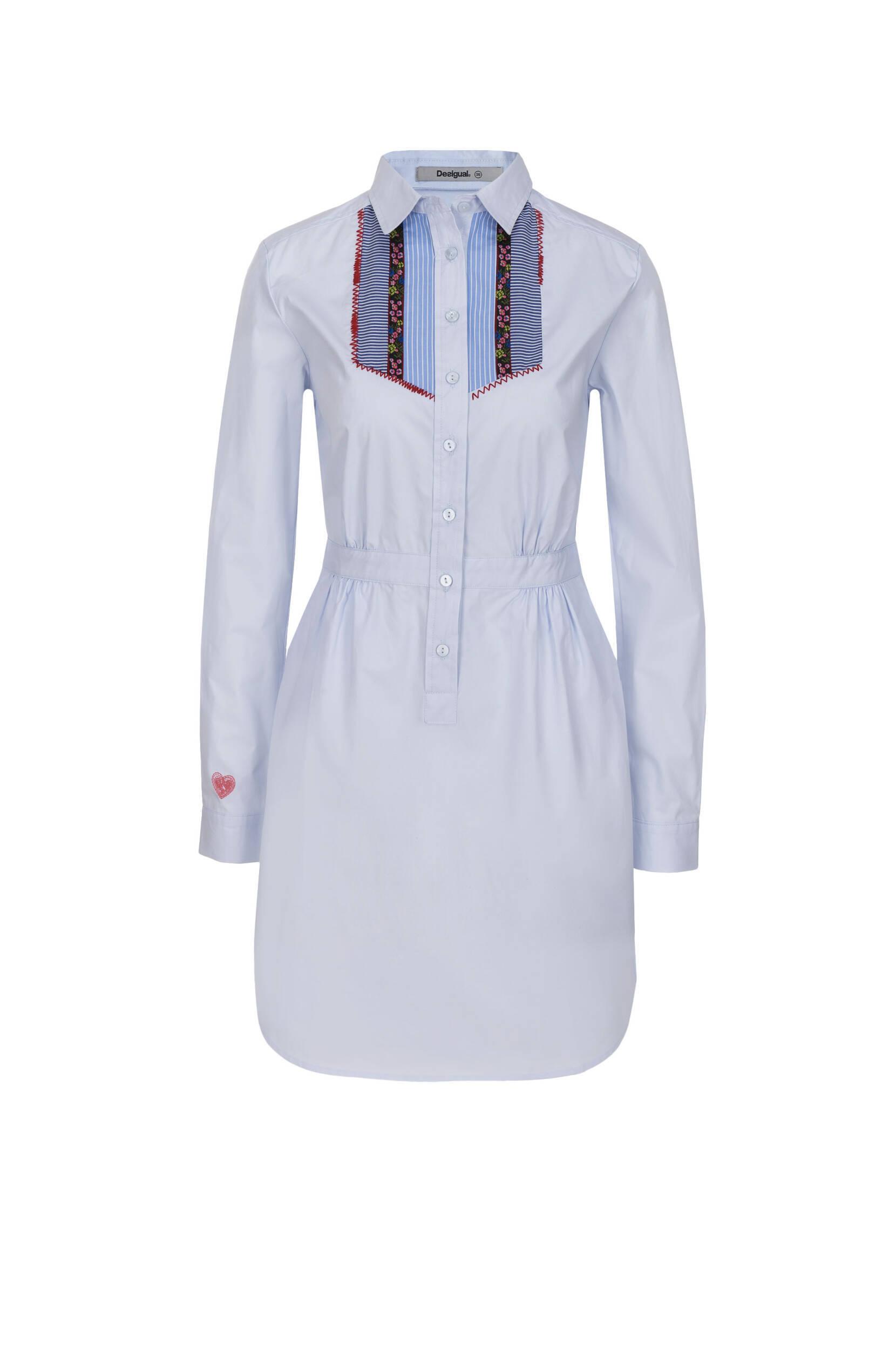 66389a82b0581 Sukienka Suiza Desigual | Niebieski | Gomez.pl
