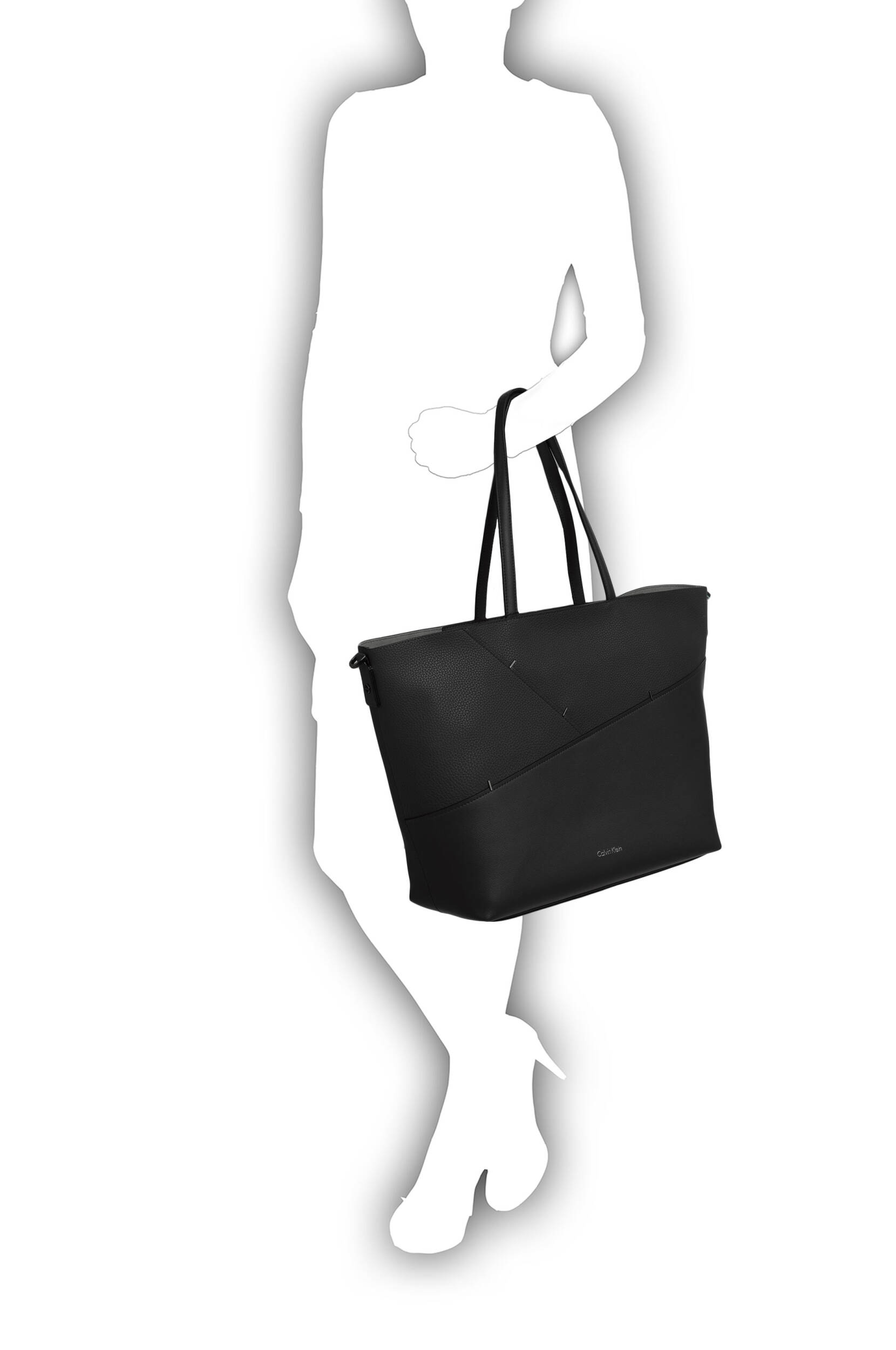 1e00bacc36 Luna shopper bag Calvin Klein | Black | Gomez.pl/en