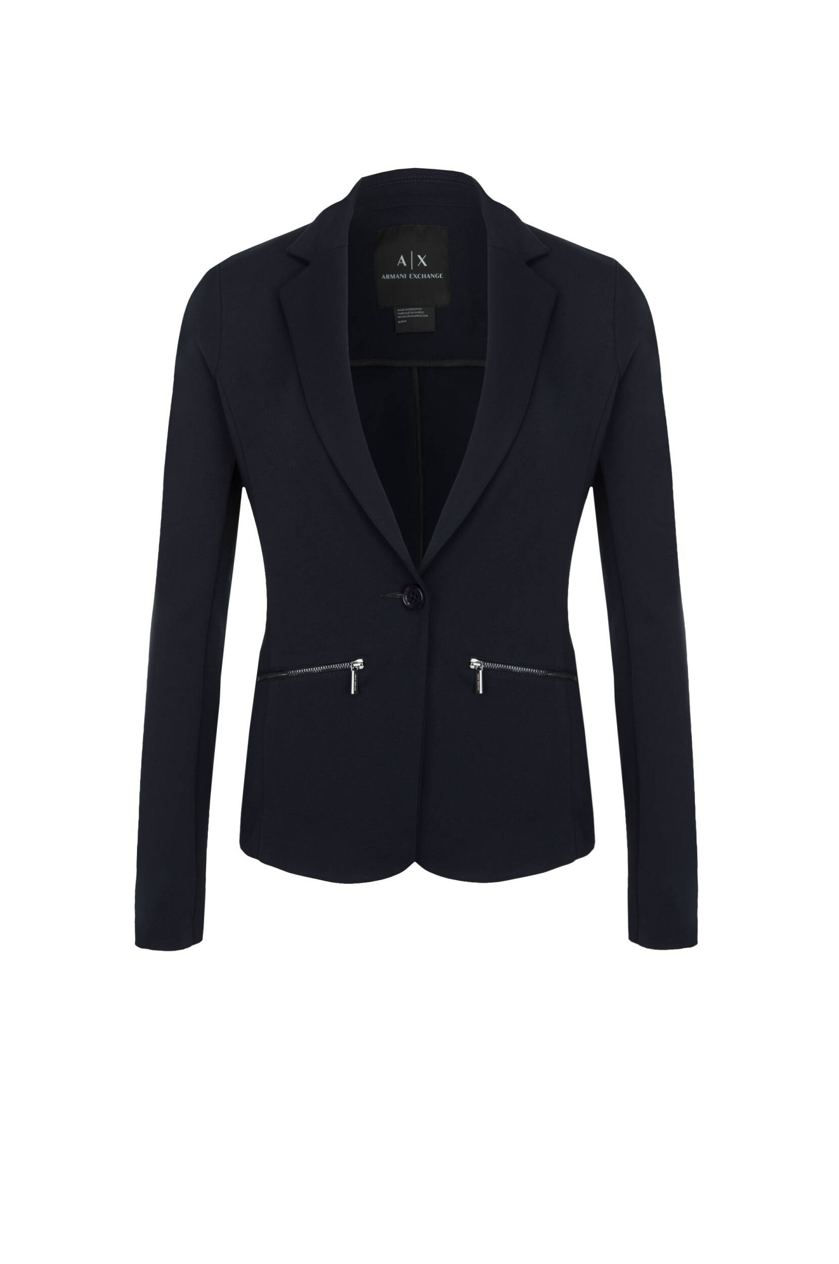 f743e435483c9 blazer jacket Armani Exchange | Navy blue | Gomez.pl/en
