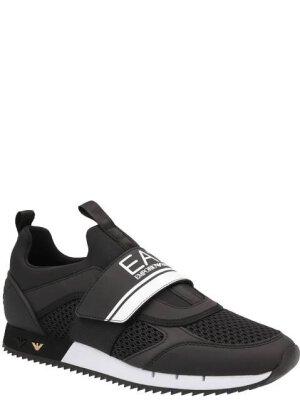 EA7 Sneakersy | z dodatkiem skóry