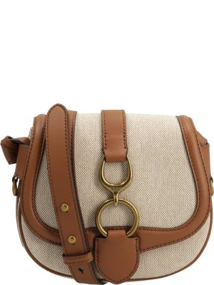 Lauren Ralph Lauren Messenger bag Barrington Natural Sm Saddle