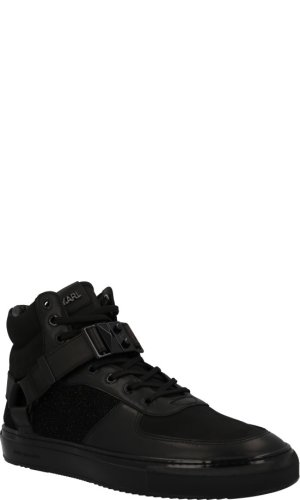 Karl Lagerfeld Skórzane sneakersy Eclipse Hi Mix