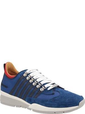 Dsquared2 Sneakersy | z dodatkiem skóry