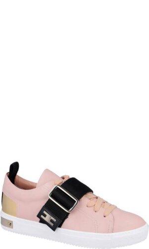 Elisabetta Franchi Skórzane sneakersy