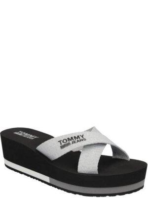 Tommy Jeans Klapki Sporty Mid Beach