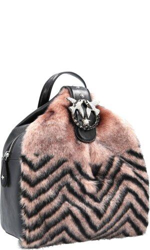 Pinko Skórzany plecak Carter