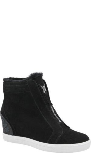 DKNY Skórzane sneakersy CONNIE