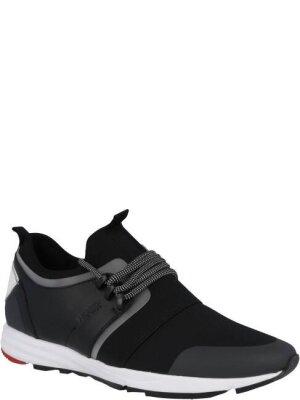 Hugo Sneakersy Hybrid Running-N | z dodatkiem skóry
