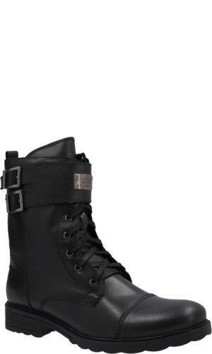 Guess Skórzane buty