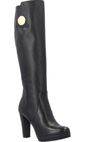 Emporio Armani Skórzana (knee-high) boots