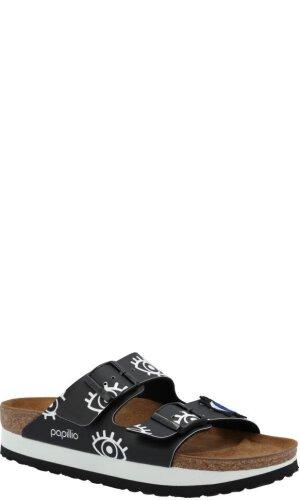 Birkenstock Klapki Arizona | narrow fit | z dodatkiem skóry