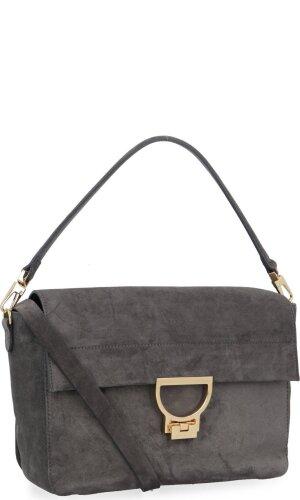 Coccinelle Skórzana torebka na ramię