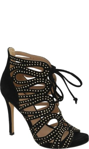 Liu Jo Skórzane sandały na szpilce