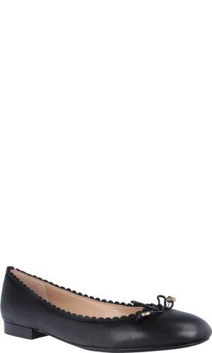Lauren Ralph Lauren Skórzane baleriny Glennie