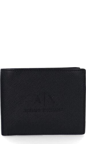 Armani Exchange Skórzany portfel