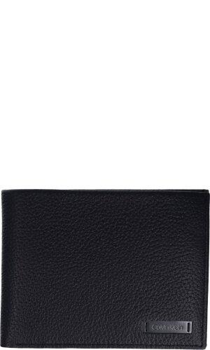 Calvin Klein Skórzany portfel PEBBLE