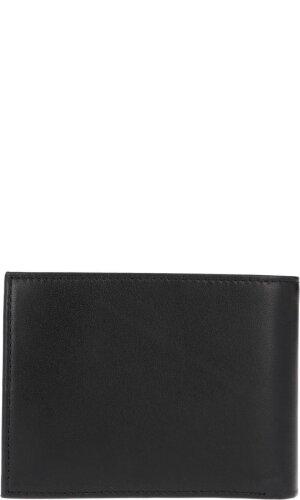 Calvin Klein Skórzany portfel+brelok SMOOTH EMBOSS