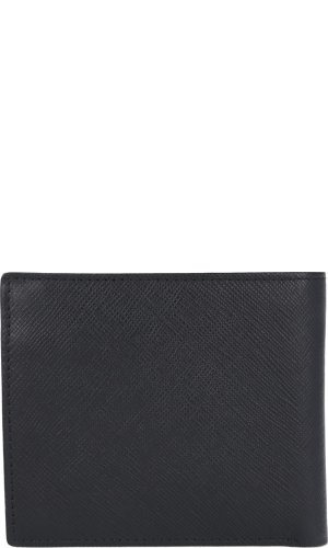 Armani Exchange Skórzany portfel BIFOLD