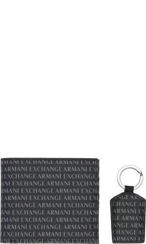 Armani Exchange Portfel + brelok