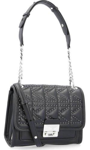 Karl Lagerfeld Skórzana listonoszka/torebka na ramię