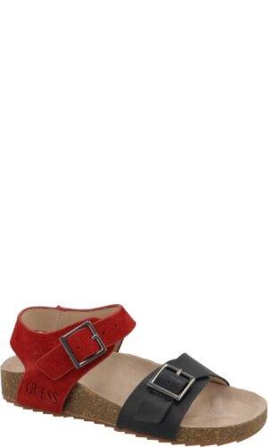 Guess Skórzane sandały BALDWIN