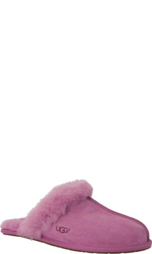 UGG Skórzane obuwie domowe W SCUFFETTE II