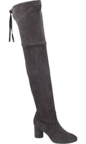 Stuart Weitzman Skórzana thigh high boots HELENA 75