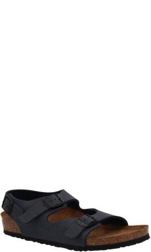 Birkenstock Sandały Roma | z dodatkiem skóry