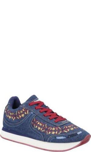 Desigual Sneakersy GALAXY EXOTIC | denim