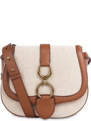 Lauren Ralph Lauren Messenger bag Barrington natural saddle