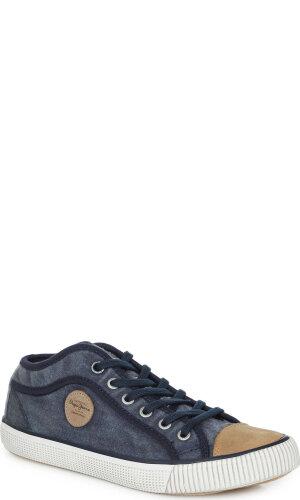 Pepe Jeans London Industry Blue Plimsolls