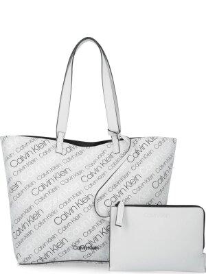 Calvin Klein Shopperka + saszetka INSIDE OUT