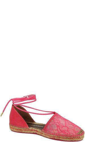 Trussardi Jeans Espadryle | z dodatkiem skóry | Regular Fit