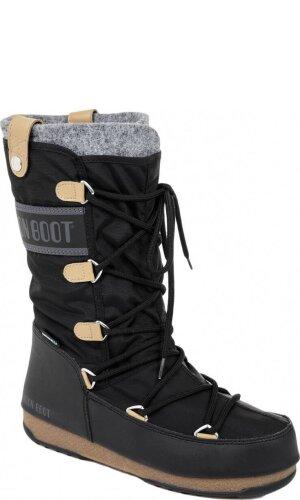 Moon Boot Śniegowce W.E. Monaco Felt Wp