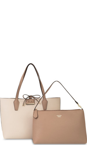 Guess Reversible shopper bag 2in1 Bobbi