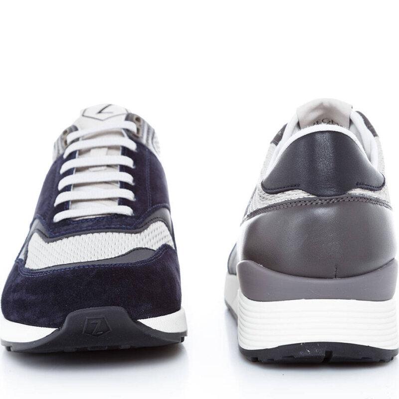 Sneakersy Z Zegna granatowy