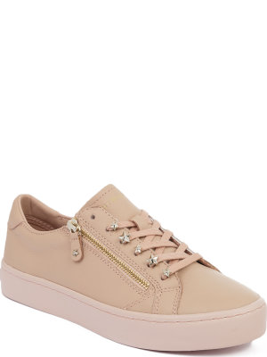 Tommy Hilfiger Star Jeweled leather sneakers